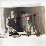 87 - ST SAINT LEONARD NOBLAT - M. GANDREAU LE NOUVEAU PROVISEUR DU LYCEE EN COMPAGNIE DE SON ADJOINT M. POMMIER - Geïdentificeerde Personen