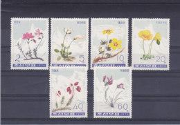 COREE DU NORD 1974 FLEURS Yvert 1223-1228 NEUF** MNH - Corée Du Nord