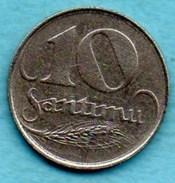 T10/  LATVIA / LETTONIE  10 Santimu 1922 - Lettonie