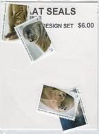 E7 AAT Australian Antarctic Territory Seals / Phoques  2018 MNH Set Of 4 Stamps / Série De 4 Timbres - Unused Stamps