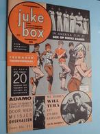 JUKE BOX Nr. 88 - 1-8-1963 - TEENAGER Tekenverhaal / ADAMO - WILL TURA ( Juke Box - Mechelen ) ! - Revues & Journaux