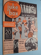 JUKE BOX Nr. 88 - 1-8-1963 - TEENAGER Tekenverhaal / ADAMO - WILL TURA ( Juke Box - Mechelen ) ! - Magazines & Newspapers