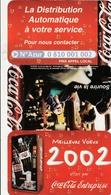 Petit Calendrier COCA-COLA 2002 - Calendars