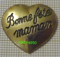COEUR BONNE FETE MAMAN En Version BALLARD - Badges