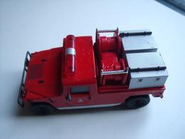 LE VEHICULE  DES POMPIERS HUMMER 1992 - Firemen