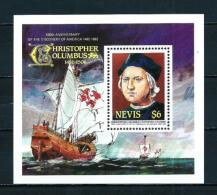 Nevis  Nº Yvert  HB-9  En Nuevo - St.Kitts E Nevis ( 1983-...)
