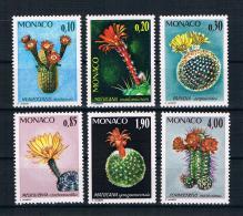 Monaco 1974 Pflanzen Mi.Nr. 1154/59 Kpl. Satz ** - Nuevos