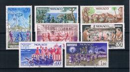 Monaco 1973 Mi.Nr. 1095/101 Kpl. Satz Gestempelt - Gebraucht