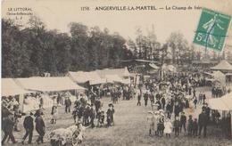 ANGERVILLE LA MARTEL LE CHAMP DE FOIRE - France