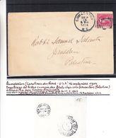 Etats Unis - Carte Postale De 1904 - Oblit Lumderton - Exp Vers Jerusalem - Cachet De JerusalemOesterreichsche Post - Etats-Unis