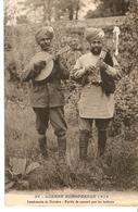 Militaria - Guerre Européenne 1914 - Lendemain De Victoire - Partie De Concert Par Les Indiens - Guerre 1914-18