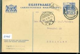 NEDERLANDS-INDIE * BRIEFKAART Gelopen In 1935 Van BANDUNG Naar SEMARANG  (11.403) - Nederlands-Indië