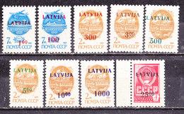 Lettonia 1992-Serie Completa Con Varianti Nuova MNH** - Latvia