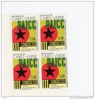 Cap Vert-Cabo Verde-1977-Congrès PAIGC-1 Valeur En Bloc De 4***MNH - Cap Vert