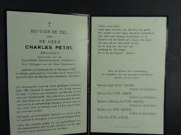 Charles Petre Brouwer Oudenaarde 1907 1975 /11/ - Images Religieuses