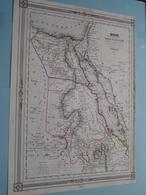 Carte DE EGYPTE Nubie Et Abyssinie Par Charle ( See Description / Beschrijving ) ! - Cartes