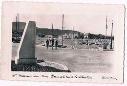 SAINTE  MAXIME  83  Voie De La Libération En 1961. Animée . - Sainte-Maxime