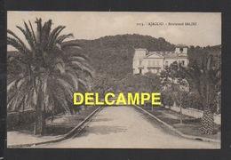 DF / 20 2A CORSE DU SUD / AJACCIO / BOULEVARD SALINI / CIRCULÉE EN 1935 - Ajaccio