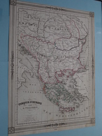 TURQUIE D'EUROPE Par A. Vuillemin ( See Description / Beschrijving ) ! - Cartes