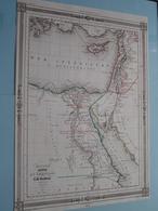 EGYPTE Palestine Et Phénicie Par A. H. Dufour ( See Description / Beschrijving ) ! - Cartes