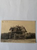 De Haan - Coq S Mer // Villa Zeerust (ander Zicht) 19?? Plak Resten Adreszijde - De Haan