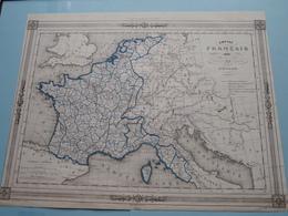 Empire FRANCAIS En 1813 Divisé En 130 Départements Dressé Par CHARLE ( See Description / Beschrijving ) ! - Cartes