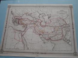 Empire D'ALEXANDRE Par A.H. Dufour ( See Description / Beschrijving ) ! - Cartes