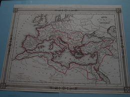 Empire ROMAIN Par A.H. Dufour ( See Description / Beschrijving ) ! - Cartes