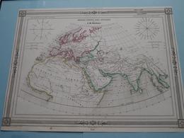 MONDE CONNU Des ANCIENS Par A. H. Dufour ( See Description / Beschrijving ) ! - Maps