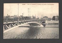 Liège - Pont Du Commerce Et Entrée Du Jardin D'Acclimatation - 1909 - Luik