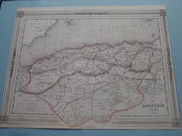 Carte De L'ALGERIE Par Charle ( See Description / Beschrijving ) ! - Maps