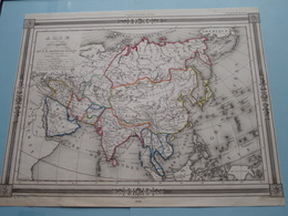 ASIE Par J. G. Barbié Du Bocage 1843 ( See Description / Beschrijving ) ! - Cartes