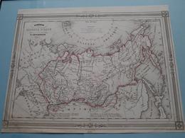 Sibérie Ou RUSSIE D'ASIE Par V. Levasseur ( See Description / Beschrijving ) ! - Cartes
