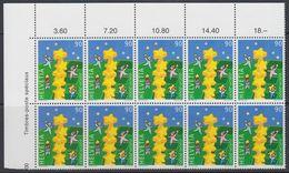 Europa Cept 2000 Switzerland 1v Bl Of 10 ** Mnh (40552C) - Europa-CEPT