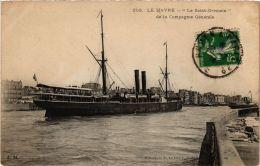 CPA Paquebot LE SAINT-GERMAIN SHIPS (704184) - Piroscafi