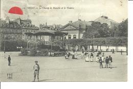 29 - BREST  - Champ De Bataille Et Le Théatre - Brest