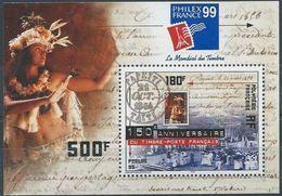 """Polynésie Bloc Yt 24 """" PhilexFrance'99 """" 1999 Neuf** - Blocks & Sheetlets"""