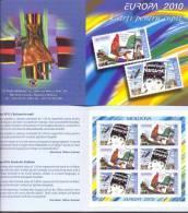 2010. Moldova, Europa 2010, Booket Of 3 Sets,  Mint/** - Moldova