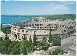 Croatia, PULA, Amfiteatar, Amphitheatre, 1973 Used Postcard [21818] - Croazia