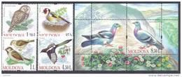 2010. Moldova, Birds Of Moldova, Set + S/s, Mint/** - Moldova
