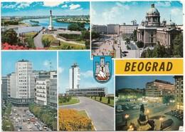 BEOGRAD, Belgrade, Serbia, Used Postcard [21821] - Serbia