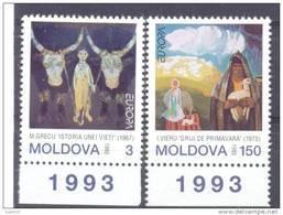 1993. Moldova, Europa 1993, Set, Mint/** - Moldova