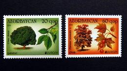 Aserbaidschan 840/1 A **/mnh, EUROPA/CEPT 2011, Wald - Azerbeidzjan