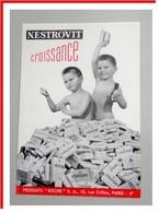 Buvard   NESTROVIT Croissance - Laboratoire Roche - Chemist's