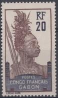 N° 38 - X X - ( C 468 ) - Gabon (1886-1936)
