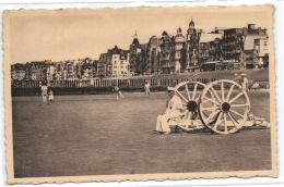 1 Postkaart Knokke Zoute La Plage Et La Digue Belmix9063 - Knokke
