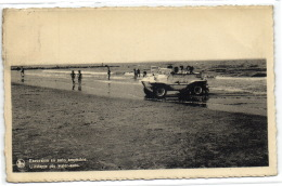 1 Postkaart Knokke Zoute Excursion Et Auto Amphibie - Knokke
