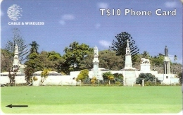 323 CTGC TARJETA DE TONGA DE ROYAL TOMBS - Tonga