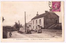 FLEURY-SUR-ORNE . La Mairie Et L'Ecole Des Garçons . - France
