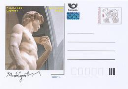 Rep. Ceca / Cart. Postali (Pre2014/06) Michelangelo Buonarroti (1475-1568) Scultore, Pittore, Architetto, Poeta Italiano - Musées